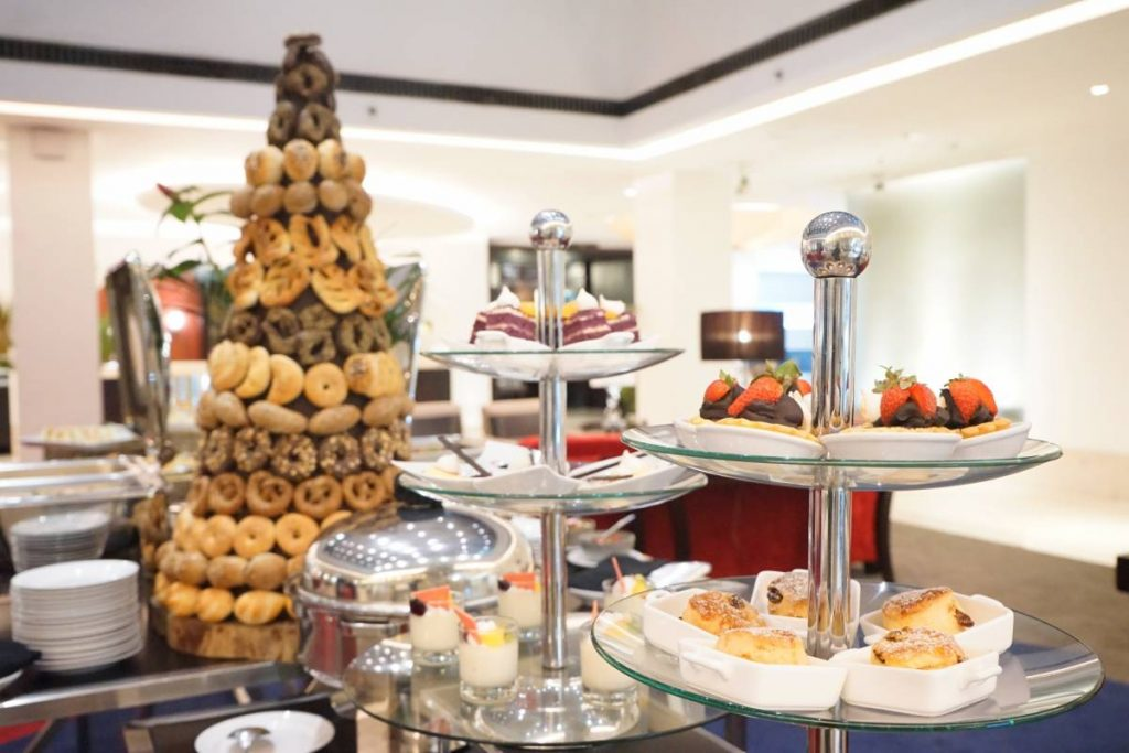 Afternoon Tea - great food at GrandKemang Jakarta - the best hotel at South Jakarta