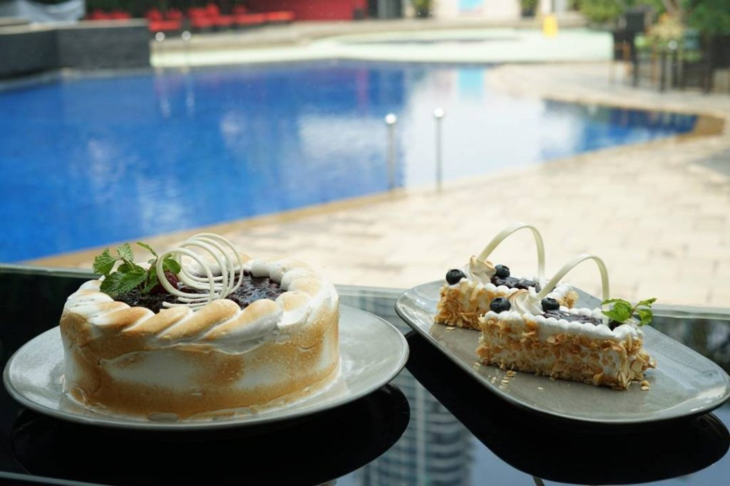 Blueberry Cheese Cake at grandkemang jakarta - d'courtyard