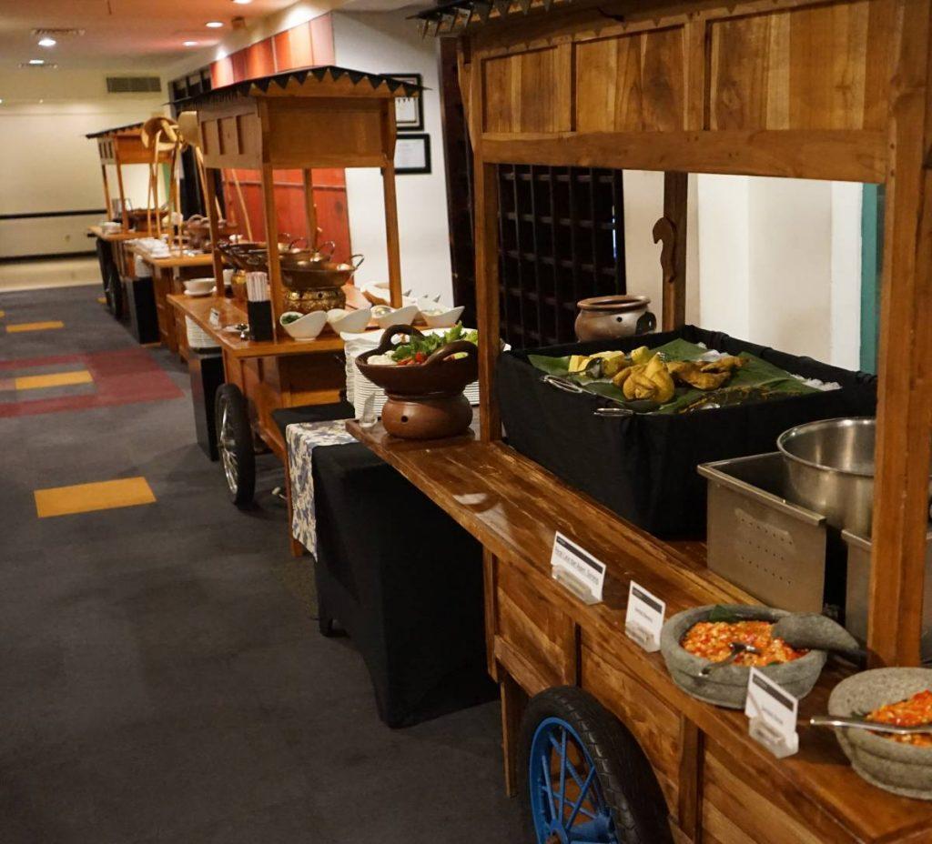 Nusantara Nite - Buffet Dinner at GrandKemang Jakarta - the best hotel at South Jakarta