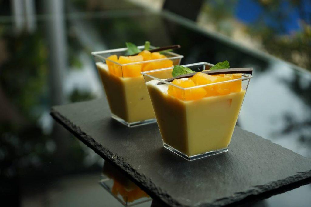 Hongkong Style Mango Pudding