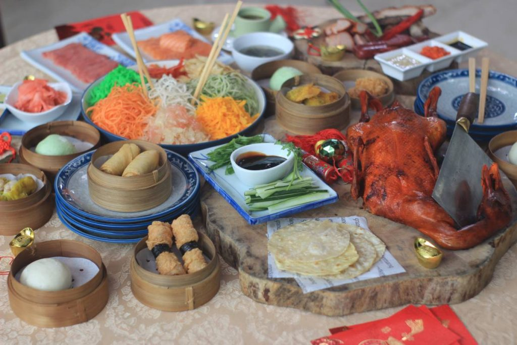 Chinese Buffet Dinner - Chinese New Year at GrandKemang Jakarta - the best hotel at South Jakarta