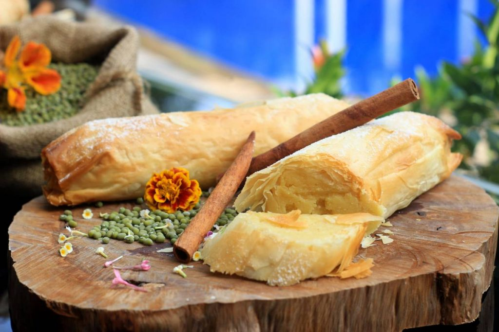 Mung Beans Strudel - All About Mung Beans at GrandKemang Jakarta - the best hotel at South Jakarta