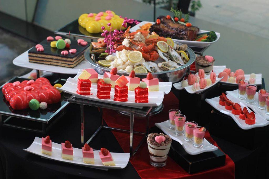 Fall in love - Valentine Buffet Dinner at GrandKemang Jakarta - the best hotel at South Jakarta